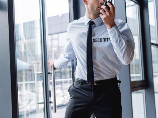 Geprüfte Schutz- und Sicherheitskraft